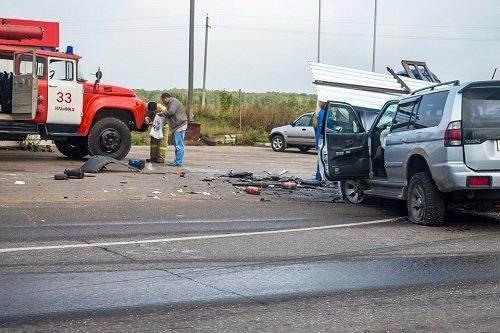 Accidente de tráfico en España