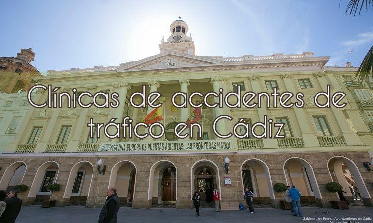 Clínicas de Accidentes en Cádiz