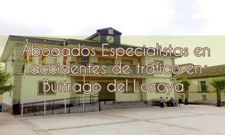 Abogados especialistas en accidentes de tráfico en Buitrago del Lozaya