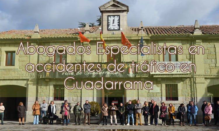 Abogados especialistas en accidentes de tráfico en Guadarrama