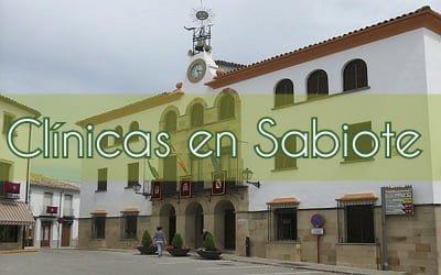 Centros medicos en Sabiote