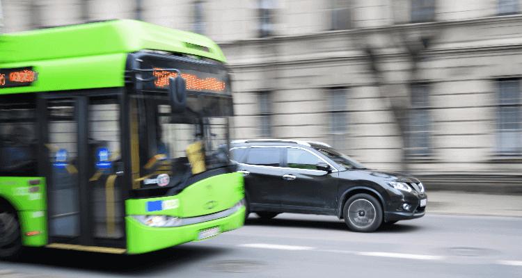 Indemnización por accidente en trasporte público