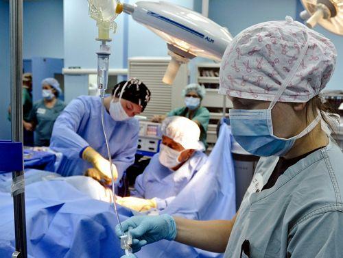 Intervención quirúrgica por lesiones en accidentes de tráfico